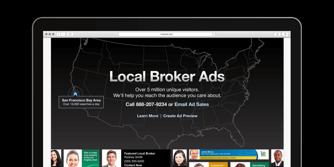 LoopNet Targeted Ads Platform